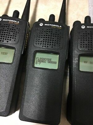 Lot of 20 MOTOROLA XTS1500 UHF 450-512mhz P25 Digital Radios H66SDD9PW5BN 2500