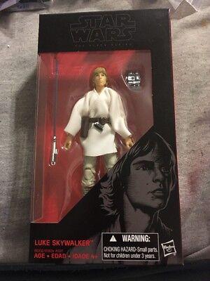 Star Wars The Black Series  21 Luke Skywalker Action Figure Nip