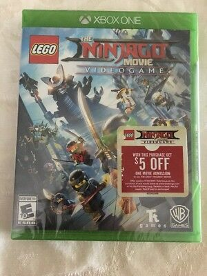 LEGO Ninjago Movie Video Game (Microsoft Xbox One, 2017) **BRAND NEW, SEALED**