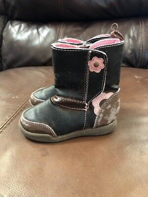 (Girls Shoes Boot Size 5 Baby Toddler Foot Wear)