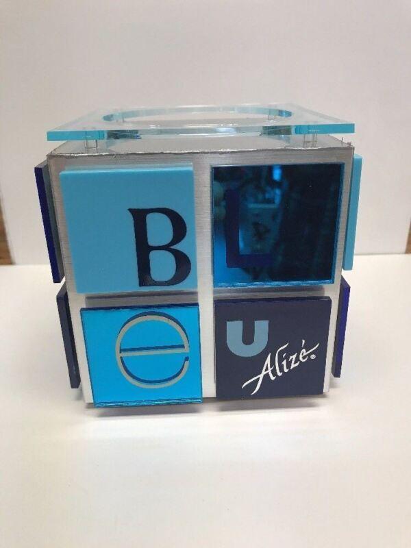 Alize BLUE Bottle Glorifier w/logo Bottle Stand NEW In Box Free Ship Man Cave