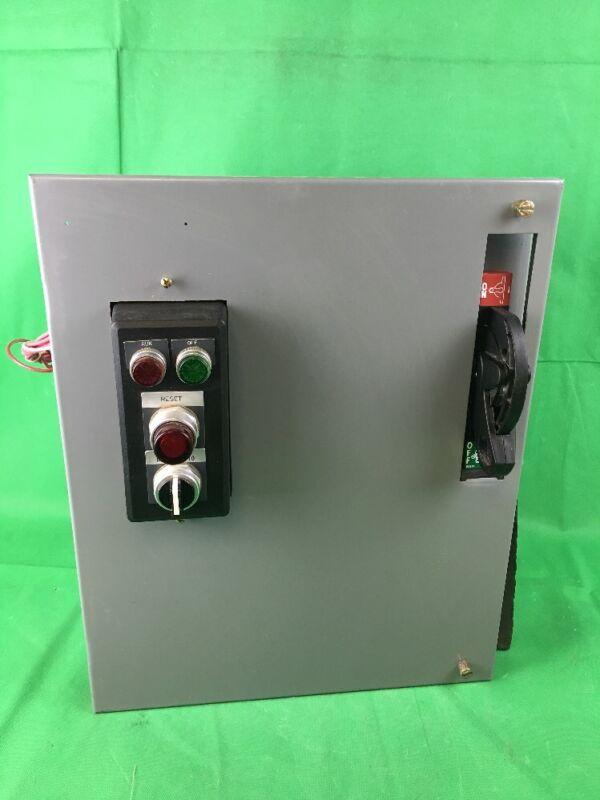 Allen Bradley 2100 Centerline 480v 3amp Hmcp Breaker Size 1 509-bod Mcc Bucket