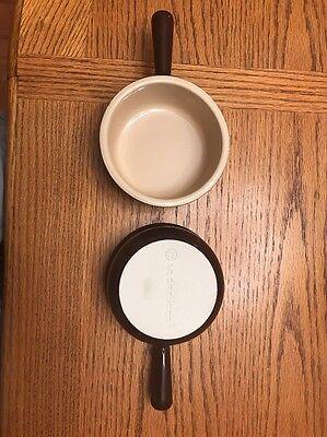 Set Of 2 Le Creuset Soup Bowls Brown/Tan