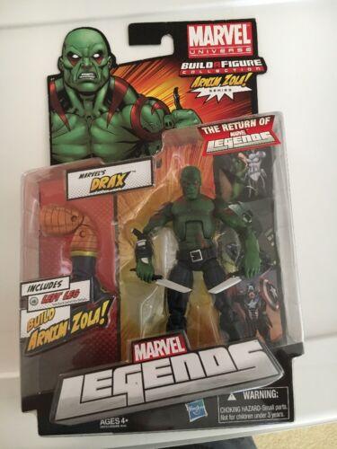 Marvel Legends Arnim Zola BAF Series DRAX with Knives Action Figure