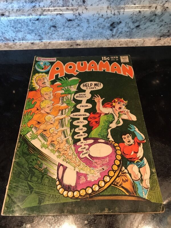 Aquaman #55 (1971 DC Comics) Mera appearance 1971 Comic