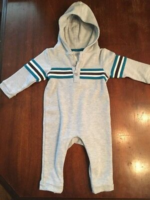 Wendy Bellissimo Baby Outfit Jumpsuit Hoodie Bodysuit 9 Months Stripes - Wendy Outfit
