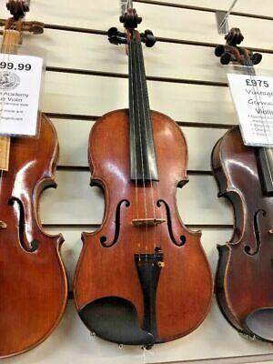 Vincenzo Miroglio Violin - Italian-Made Circa 1900 - 4/4 Size