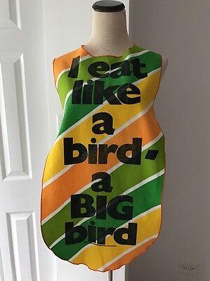 I eat like a bird- a Big bird Funny Joke Apron