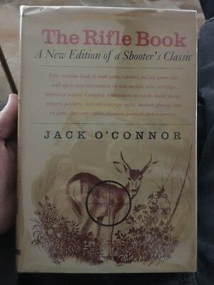 THE RIFLE BOOK Jack O'Connor 1964 Hunting. gunsmithing Hunter Collectible, used for sale  Oklahoma City