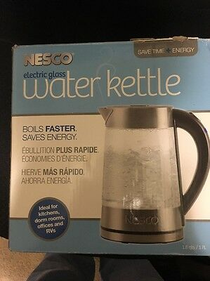 Nesco GWK-02 Electric Glass Water Kettle