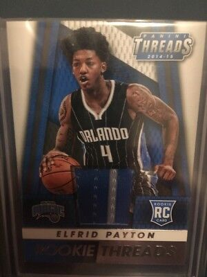 NBA Jersey Card Panini Threads (rookie) 2014-15 Elfrid Payton