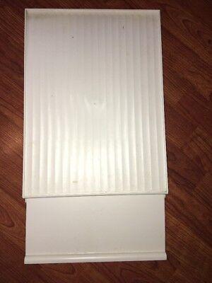 Whirlpool Freezer Shelf with Ice Door OEM Parts WP2194297K WP2171713 EUC