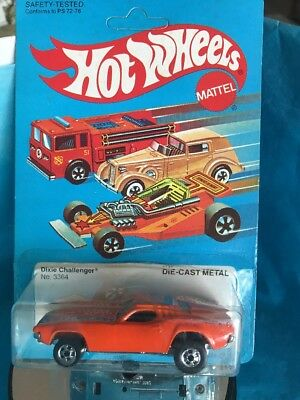 Hot Wheels 1982 Dixie Challenger Unpunched See Pictures