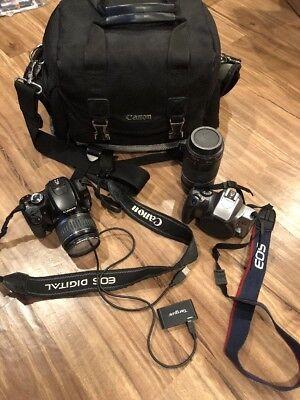 Canon DS126151 EOS Rebel Digital XTi Camera Flash Lens Filters Bag Case Rebel K2 Canon Rebel Xti Camera Case