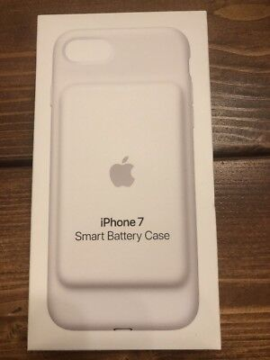 Brand New Apple iPhone 7 Smart Battery Charging Case Cover White MN002LL/A