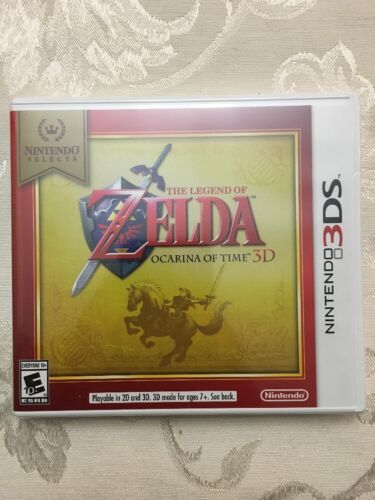 Купить NINTENDO 3DS GAME THE LEGEND OF ZELDA OCARINA OF TIME BRAND NEW AND SEALED