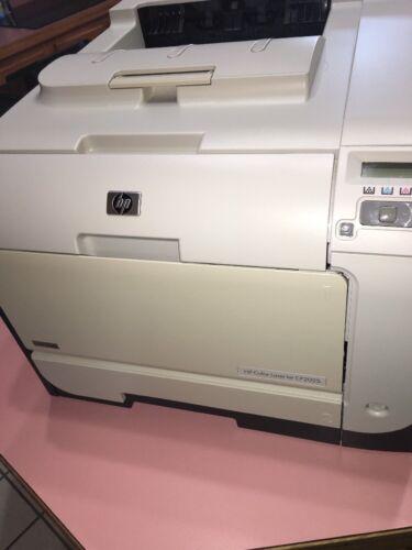 Hp cp2025dn couleur laserjet imprimante 540mhz 600dpi usb lan w / toner plateau