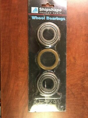 - Shipshape Trailer Wheel Bearing Set - Spindle Size 1