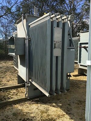Westinghouse 2000 Kva 13800 Primary 480y277 Secondary Substation Transformer