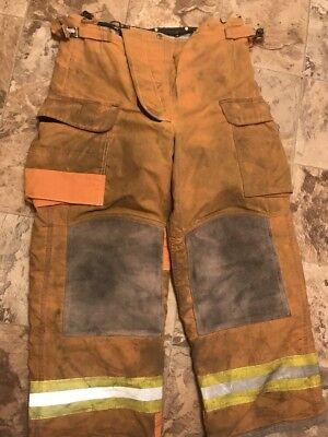 Lion Bodyguard Firefighter Turnout Gear Bunker Pants 36 X 30