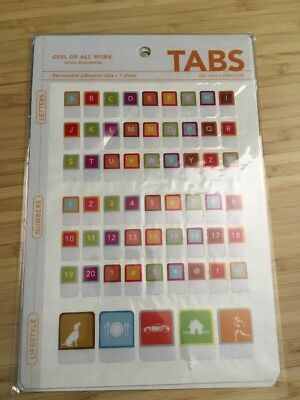 New Girl Of All Work Llc Peel And Stick Tabs Letters Numbers Lifestyle Stickers