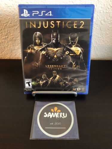 NEW INJUSTICE 2 LEGENDARY EDITION PLAYSTATION 4 PS4 SEALED USA SELLER FAST  SHIP!