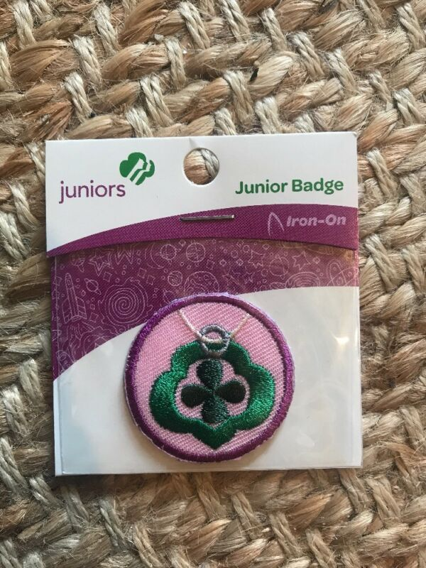 Girl Scout Junior Patch Badge Jeweler