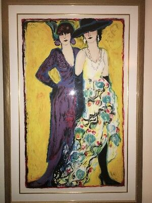 Large Judith Bledsoe Lily & Coco Number 229/300