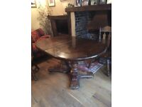 Beautiful period-style table. Absolute bargain. Shabby chic potential.