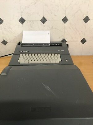 Smith Corona Sl500 Portable Electronic Typewriter Wcover