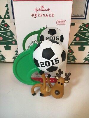 Fußball Star Zum Personalisieren - mit Aufkleber Weihnachten Hallmark Ornament