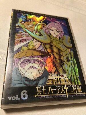 Saint Seiya The Hades Vol. 6 Chapter Sanctuary Foil Cover DVD