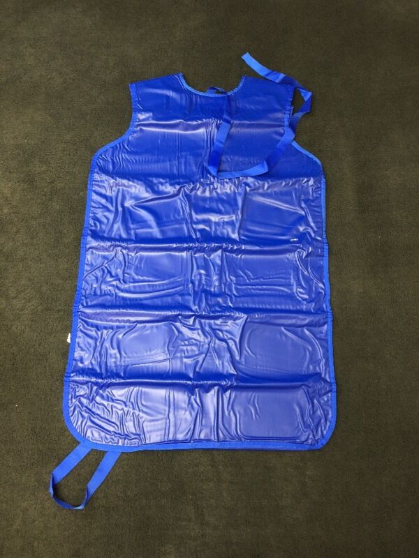 New Shielding Liteply .5mm X-ray Protective Apron Royal Blue