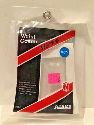 Neumann Youth Wrist Coach WCY3 White NEW