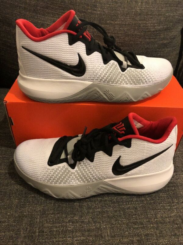 best loved 4a001 41005 Nike Kyrie Flytrap Basketball Shoes Red Black White AA7071-400 Unreleased  Sample