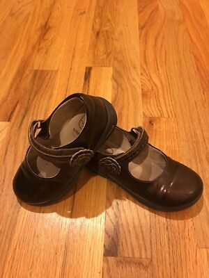 Stride Rite Nicolette Mary Jane Brown Shoes 9.5 M