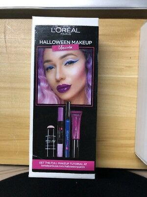 L'Oreal Paris Cosmetics Halloween Makeup Unicorn Kit  ~