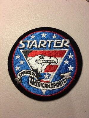 "Starter Proline NFL NBA MLB NHL Sports Gear Embroidered Patch On Felt 3.5"" V1"
