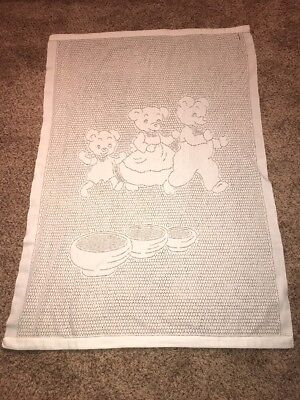 SYLVANIAN FAMILIES Embroidery Carpet Rug Mat Retired Calico Critters Epoch