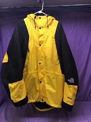 Vintage THE NORTH FACE MOUNTAIN GUIDE GORE-TEX PARKA Men's XL Yellow Black EUC!