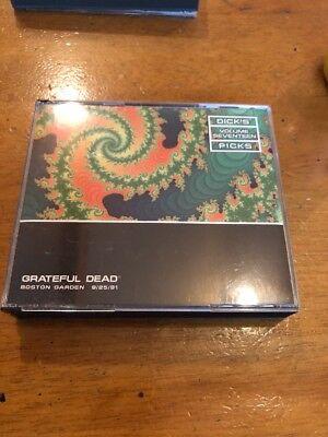 Dick's Picks 17: Boston Garden 9/25/91 - Grateful Dead Rare Garcia ()