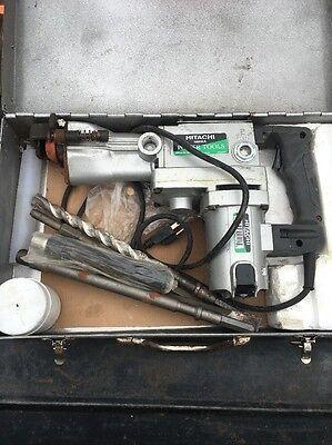 Hitachi H60ka 110v Breaker 19mm Hex 1300 Watt 110 Volt With Bits.
