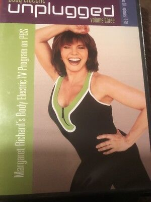 Margaret Richard Body Electric Unplugged Volume Three 3 Workout (DVD) NEW