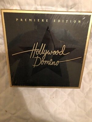 Hollywood Domino Premiere Edition Game Family Fun Factory Sealed