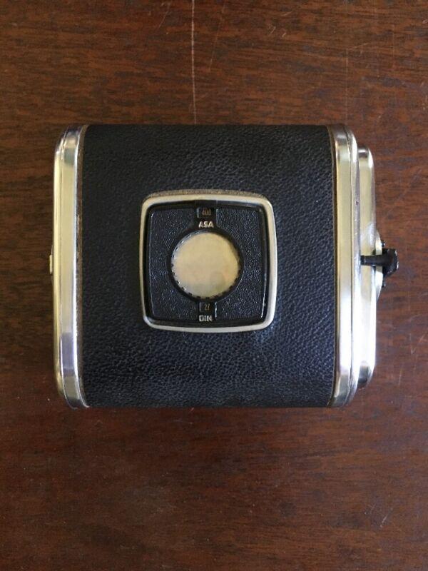 Hasselblad A12 Film Chrome- Black-1968- Mismatch #