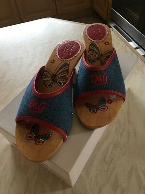 D&g Clog Slippers/sandals