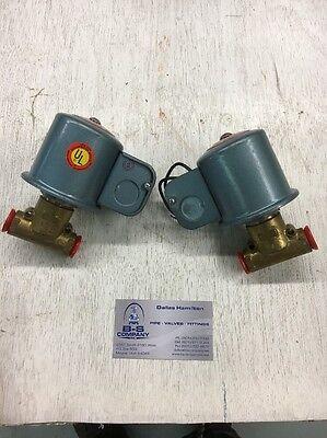 Itt Magnetic Valve 38 Model K21ea1532 Lot Of 2