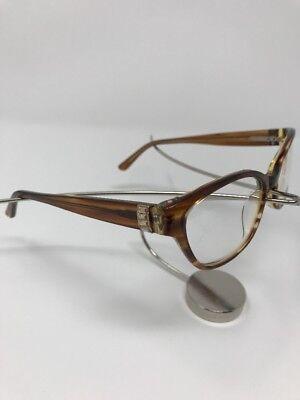 NEW! Vera Wang RAINA TA Tabac Eyeglass Frames 51/16/132 Flex Hinge 4263