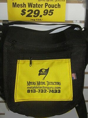 Ultimate Treasure Hunting Pouch Apron Mesh Water Metal Detecting Free Ship
