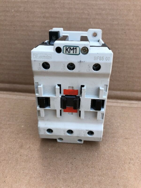 Lovato BF65 600V 110A 3Ph Magnetic Contactor 120V Coil #B-15